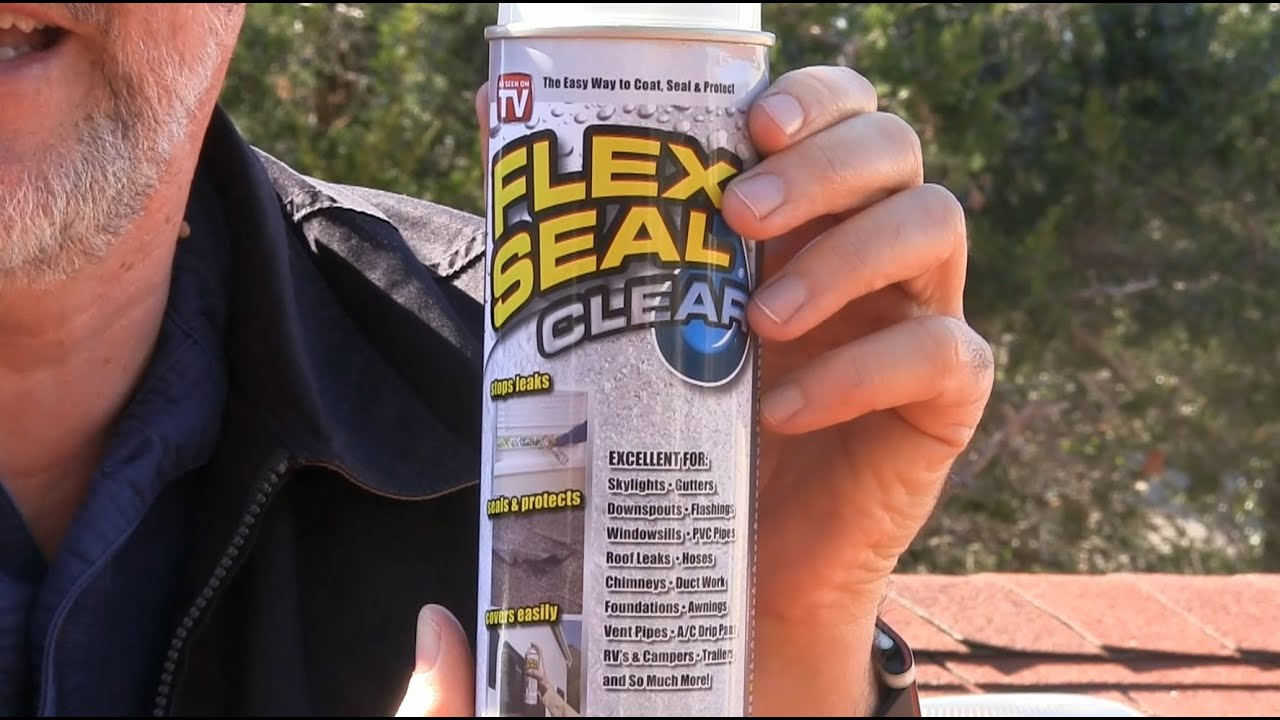 Flex Seal Spray in Clear Flex Seal is a liquid rubber coating spray that turns into a durable waterproof barrier. It's easy to use and comes in a portable aerosol spray can.