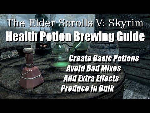 Skyrim: Health Potion Guide