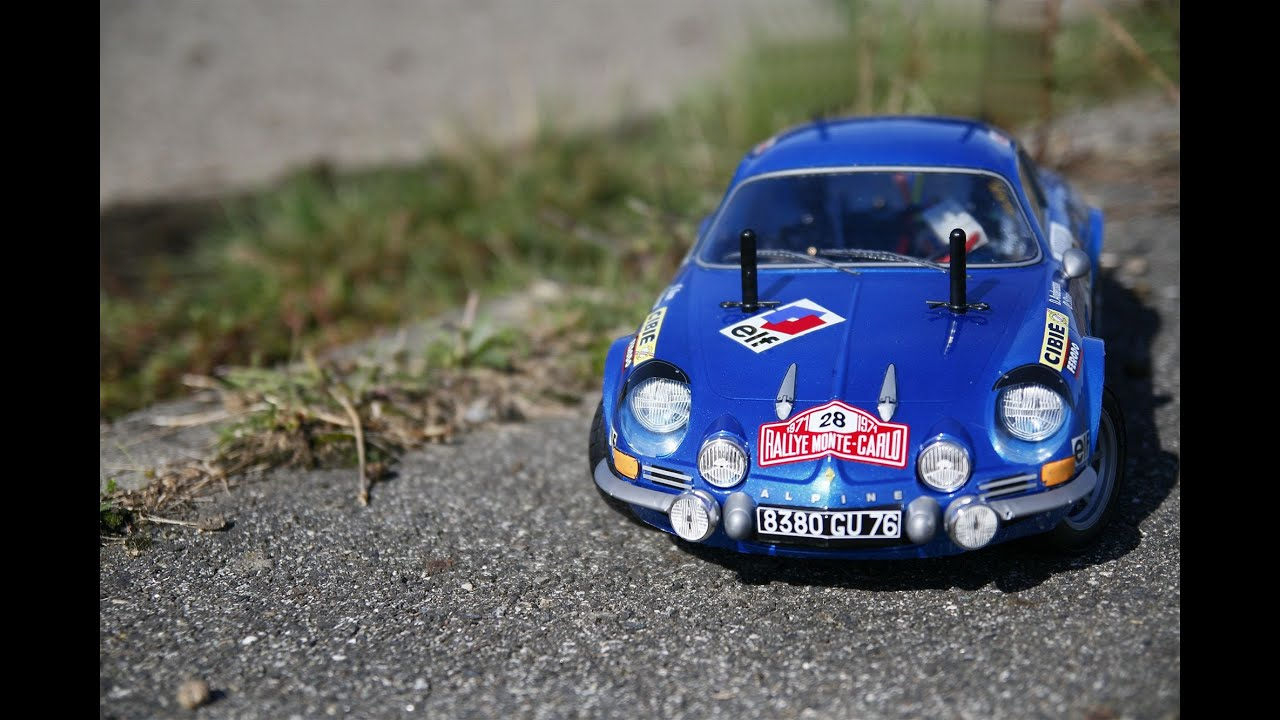 Tamiya M06 Alpine Renault A110 1600s Monte Carlo 1971 Rc Model