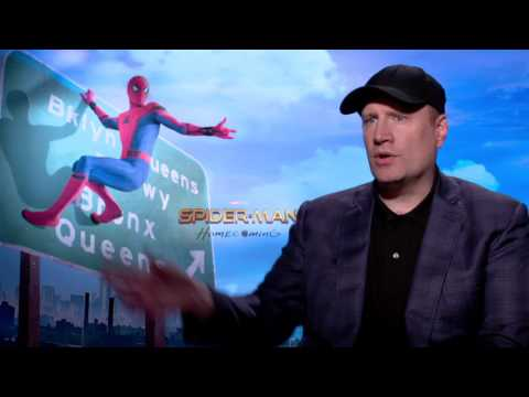Spider-Man: Homecoming: Marvel's Kevin Feige Official Movie Interview