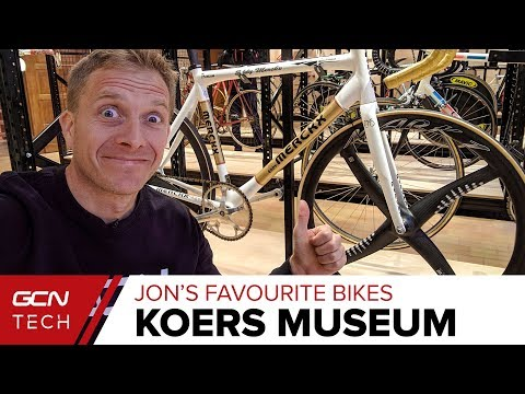 Unique Pro Cycling Bikes And Tech | Koers Museum Tour