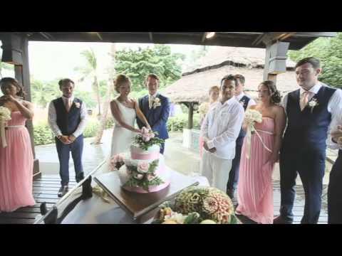 Mr & Mrs Blake, Thailand, Koh Samui, Nora Beach, Wedding Highights Video, 27/08/14