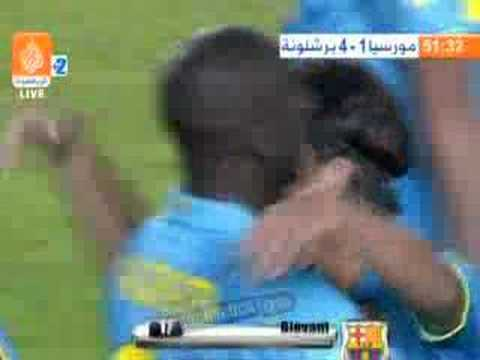 Giovani 2nd goal vs murcia