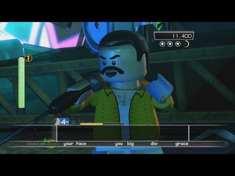 LEGO Rock Band - Queen - We Will Rock You (LEGO Avatars Version)