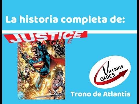 Liga de la Justicia Trono de Atlantis