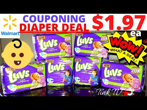 🏃♀️💥WALMART COUPONING👶🏼👶🏽SEPT P&G COUPONS 💥$1.97 LUVS A PACK! BUNDLES FOR BABIES❤👶🏽👶🏼CHEAP DIAPERS