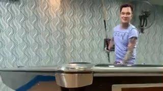 """Lâm Chấn Huy đưa vợ đi đánh bi a gặp cao thủ Sài Gòn - Live hit mới """" Yêu Một Người Có Gì Sai"""""""