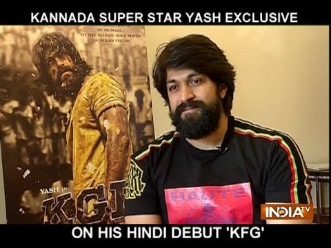 Kannada Star Yash Reveals Interesting Details About Kgf Youtube
