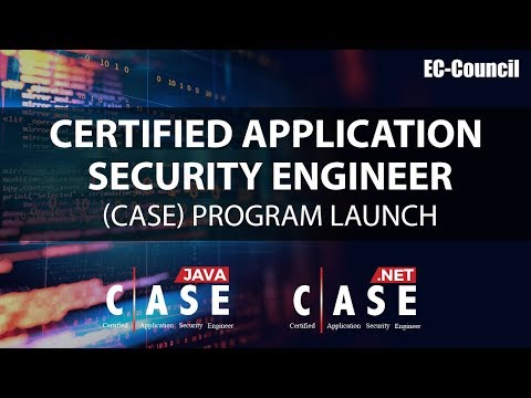 Certified Application Security Engineer (CASE) Program Launch