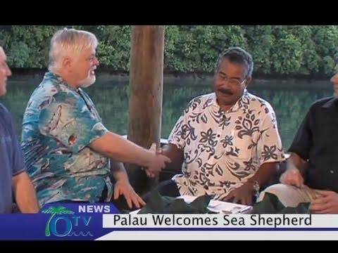 Sea Shepherd partners with Republic of Palau