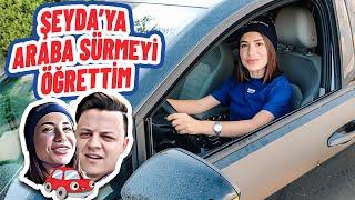 ŞEYDA'YA ARABA SÜRMEYİ ÖĞRETTİM! (SÖZÜMÜ TUTTUM!)