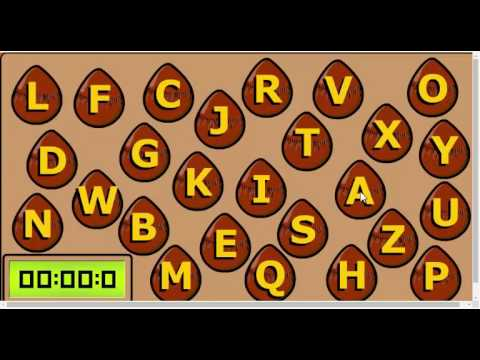 ABC countdown | Game | English Online | Learn English Kids - YouTube