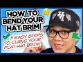 How to bend your hat brim tutorial kthla and richie le hat collab mp3