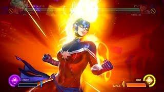 Marvel vs. Capcom: Infinite - All Level 3 Hyper Combos (Super Attacks)