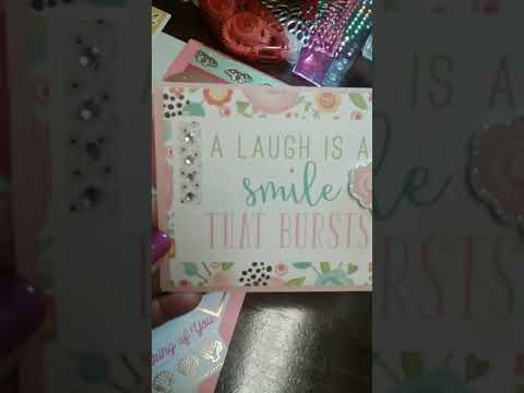 FUN  CARD MAKING!!!
