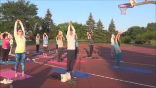 Sunrise Yoga   Full class with Vidya Nahar - Holding Poses for 1 minute