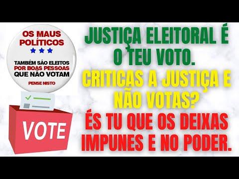 Só quando as pessoas começarem a ir às urnas votar contra os partidos corruptos, é que Portugal terá futuro