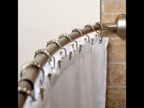 Curved shower curtain rod by optea-referencement.com