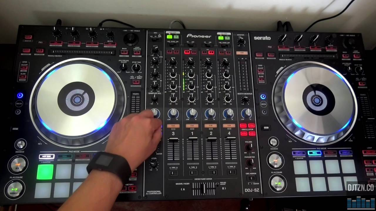 Using The Pioneer Ddj Sz With Rekordbox Dj Youtube