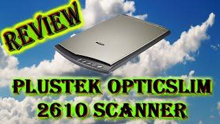 Plustek OpticSlim 2610 Flatbed Scanner (REVIEW)