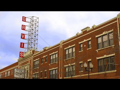The History of the Davis Theater