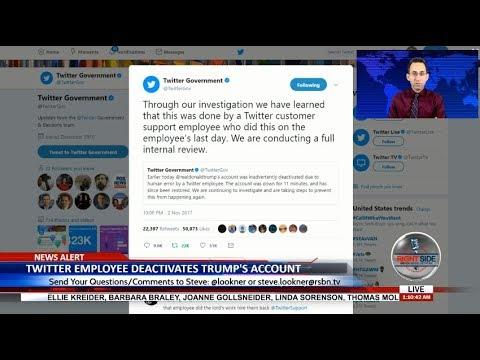 Twitter Employee Deactivates Trump's Twitter Account - LIVE BREAKING NEWS COVERAGE