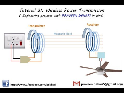 Tutorial 31: Wireless Power Transmission (Engineering projects with  PRAVEEN DEHARI in hindi)