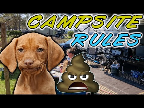 Campground Etiquette and Campsite Rules - The unwritten rules of camping