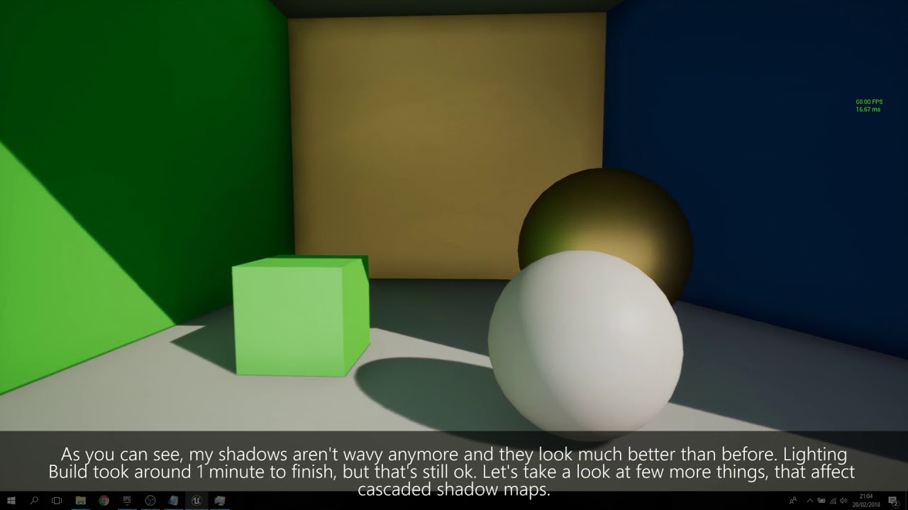 UE4 tutorial: Realistic baked lighting for videogames