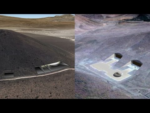 Base S4 Found at Papoose Mountains South of Area 51 - FindingUFO