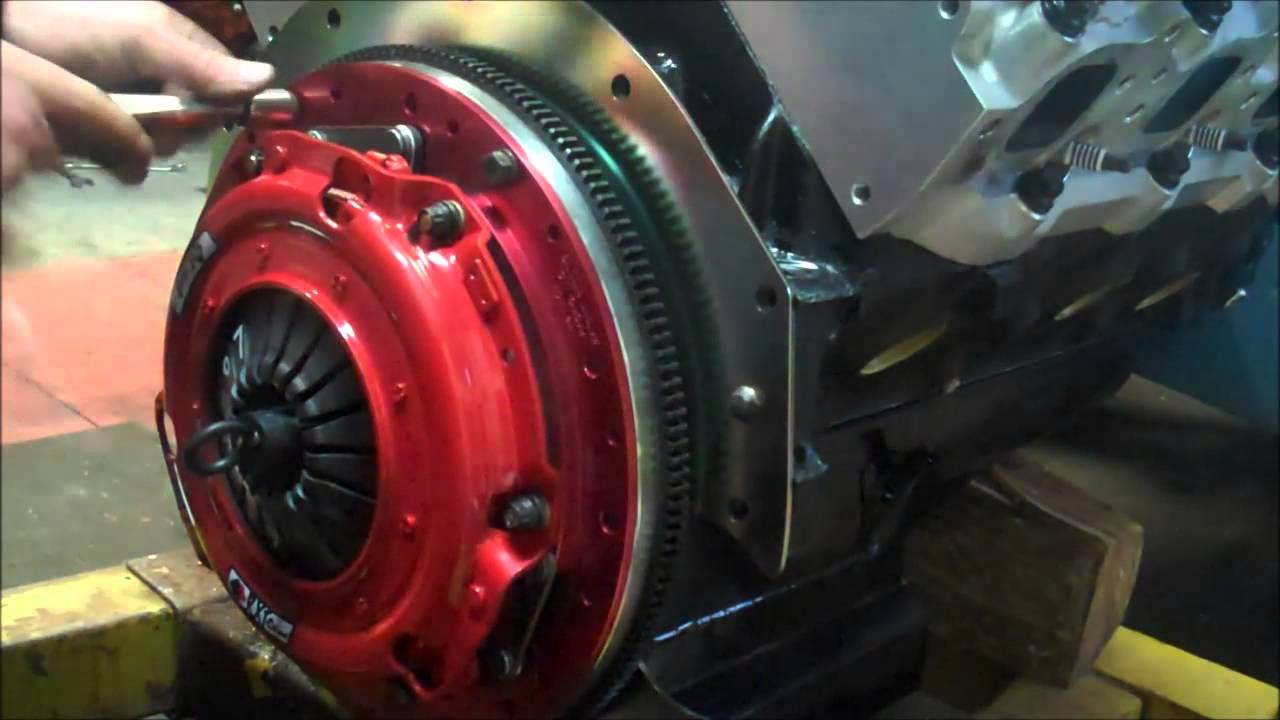 1955 Chevy Mcleod Clutch Youtube 1954 Truck Linkage