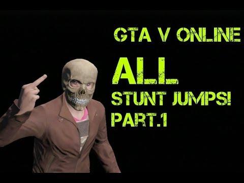 GTA V Online All Stunt Jumps part 1