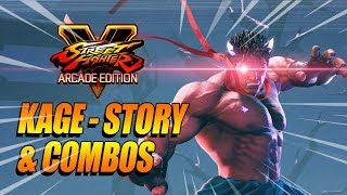 KAGE..Evil Ryu - Story & Discovering Combos w/Maximilian