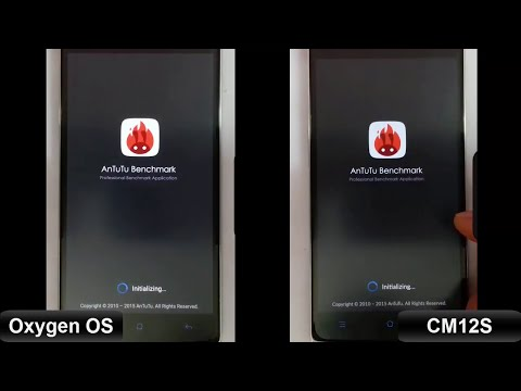 CM12S vs OxygenOS - Benchmark Test