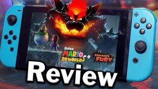 Super Mario 3D World + Bowser's Fury Review (Nintendo Switch) (Video Game Video Review)