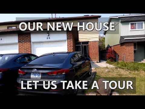 Let's Take a Tour in My New House | How Houses are in Canada?