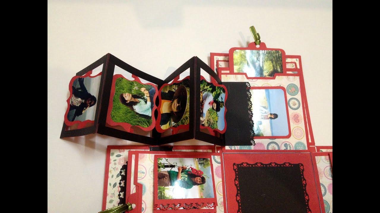 Explosion box / birthday box / diy / Scrapbook / handmade / Hộp quà sinh nhật / Hộp ảnh độc đáo