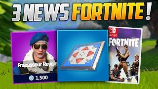 "PROPULSEUR V2, THE SKIN ""Royale Bomber"" BIENAND FORTNITE ON SWITCH! (Fortnite News)"