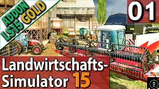 LS15 ADDON Landwirtschafts Simulator 15 GOLD #1 SPECIAL deutsch HD