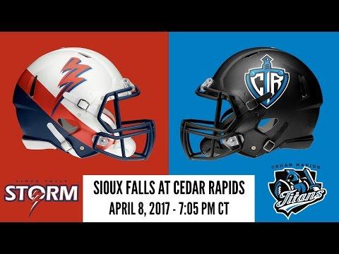 Week 8 | Sioux Falls Storm at Cedar Rapids Titans