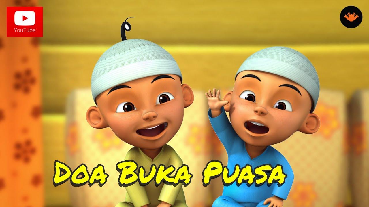 Upin Ipin Doa Buka Puasa With Subtitle Hd Youtube