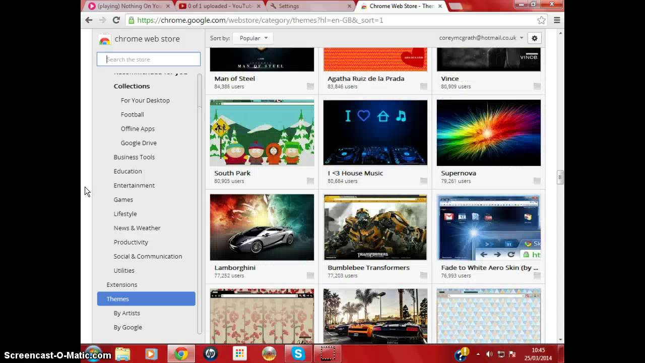 Google uk themes - How To Get Free Google Chrome Themes