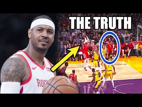 THIS is Why Carmelo Anthony CAN'T Play (Ft. NBA Coaches, LeBron James, A Lot of Jab Steps)