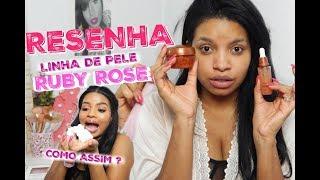 LINHA FACIAL RUBY ROSE 😱 #RESENHA