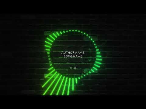 Neon Circular React | Videobolt.net Music Visualizer