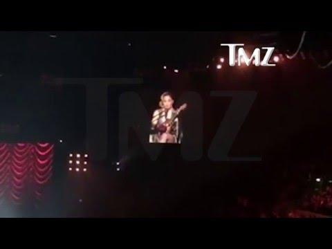 Madonna se quebró en un escenario por la tenencia de su hijo
