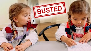 TWINS QUARANTINE HOME SCHOOL ROUTINE *SHE CHEATS!!*
