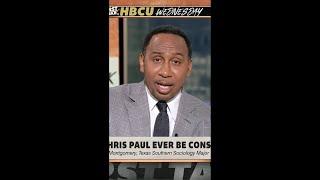 Stephen A. calls Chris Paul a top-5 PG in NBA history 👊 | #Shorts