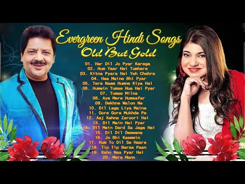 BEST Songs Udit Narayan & Alka Yagnik 🌹🌹 Evergreen romantic songs 🌹 Awesome Duets - SUPERHIT JUKEBOX