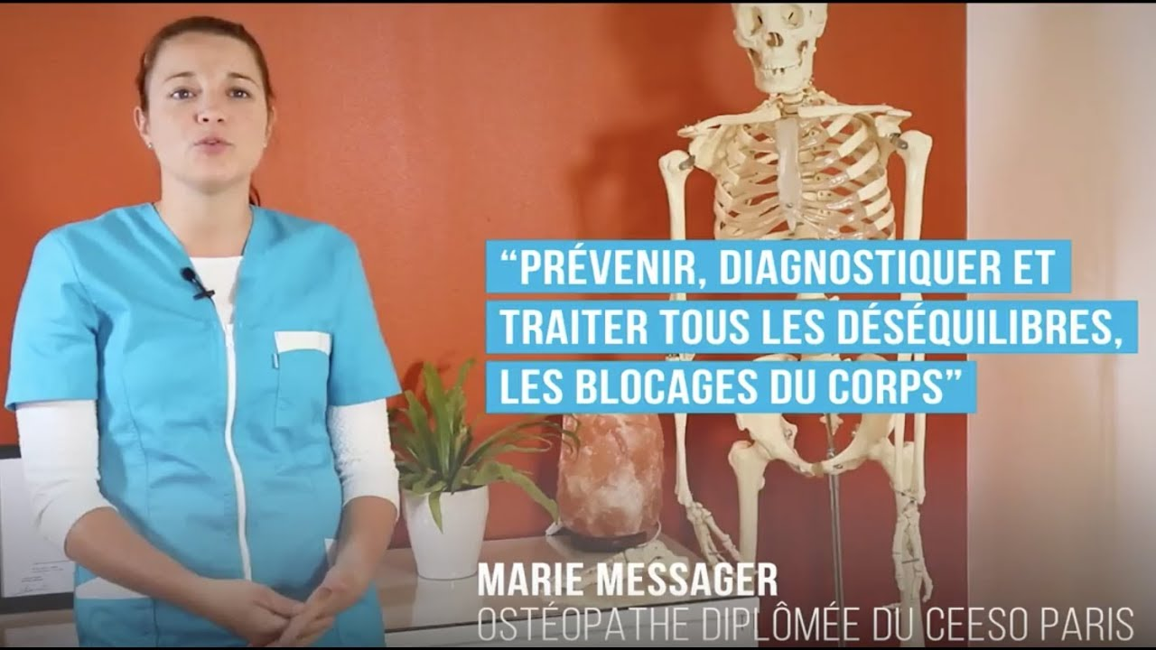Marie Messager   Osteopathe   Versailles 78   Nandy 77